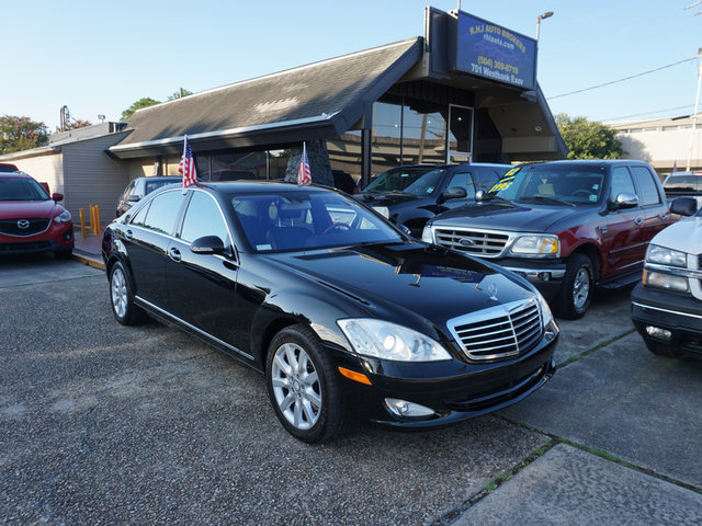 The 2008 Mercedes-Benz S-Class S550 photos