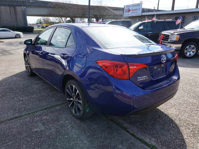 The 2018 Toyota Corolla SE