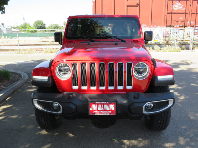 2020 Jeep Wrangler Unlimited North Edition 4X4 photo