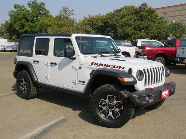 The 2020 Jeep Wrangler Unlimited Rubicon 4X4