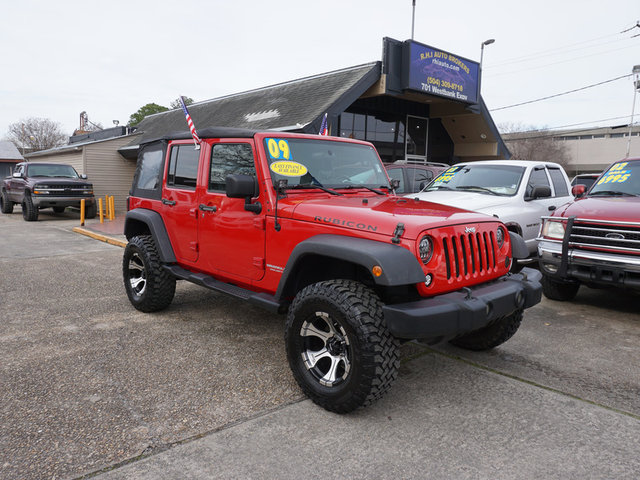 The 2009 Jeep Wrangler Unlimited Rubicon photos