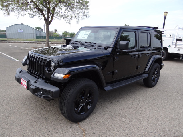 The 2020 Jeep Wrangler Unlimited Sahara Altitude 4X4