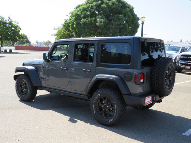 2020 Jeep Wrangler Unlimited Willys 4X4 photo