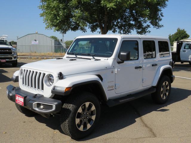 2020 Jeep Wrangler Unlimited Sahara 4X4 photo